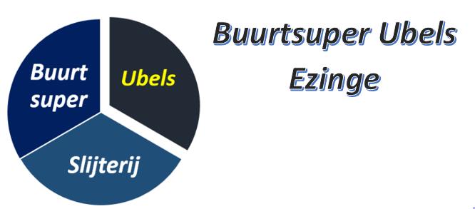 Buurtsuper Ubels Ezinge logo